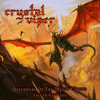 Crystal Viper – Defenders Of The Magic Circle: Live In Germany CD