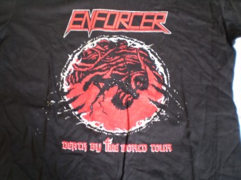 Enforcer - Death By Fire TS
