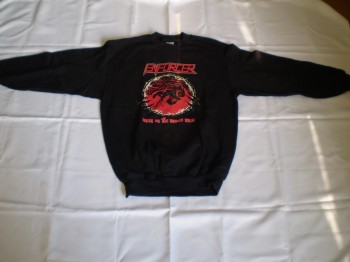 Enforcer - Death By Fire Sweat Shirt (Pullover)