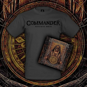 Commander - Fatalis (The Unbroken Circle) CD BUNDLE (CD + T-SHIRT)