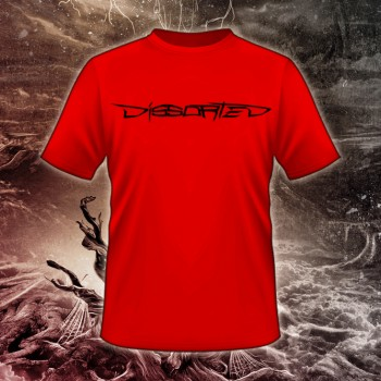 DISSORTED - Logo red Shirt