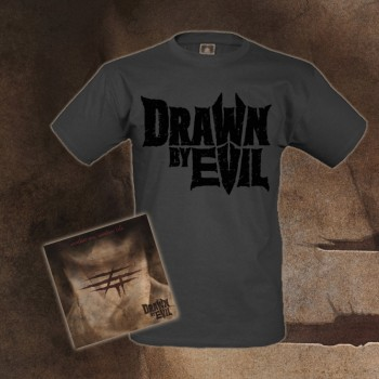 DRAWN BY EVIL - Another Sin, Another Life Bundle CD + T-Shirt