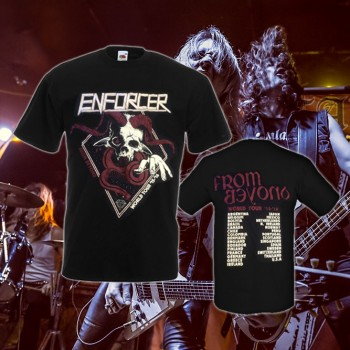 Enforcer - From Beyond World Tour Black T-Shirt
