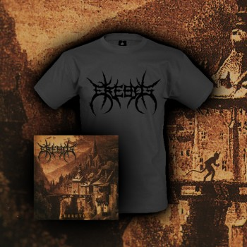 EREBOS - Heretic CD + TS Bundle L