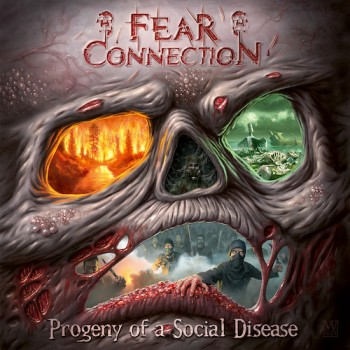 Fear Connection - Progeny Of A Social Disease CD