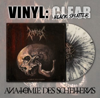 HYEMS - Anatomie Des Scheiterns LP Clear / Black Splater Vinyl