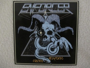 Enforcer - From Beyond Aufkleber / Sticker