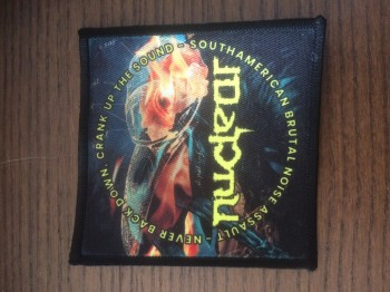 NUCLEAR - Never Down (printed) Patch