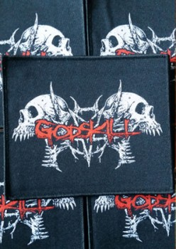 GodSkill - Skull Logo Patch