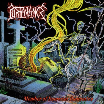 PURTENANCE - Member Of Immortal Damnation CD