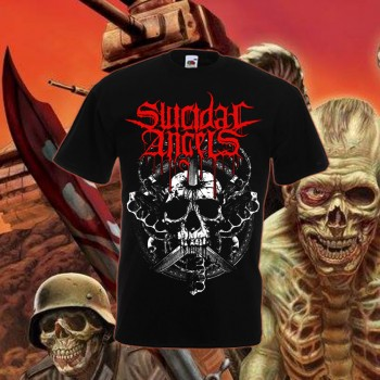 Suicidal Angels - Skull T-Shirt