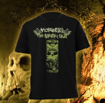 Across The Burning Sky - The Devil Skull T-Shirt