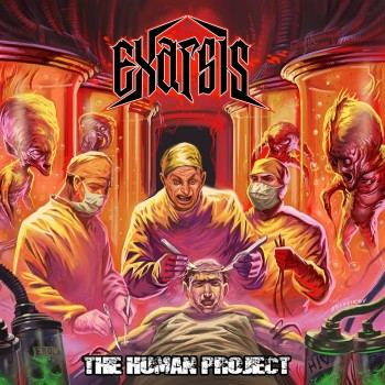 Exarsis - The Human Project Sticker
