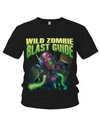 Wild Zombie Blast Guide - Back From The Dead T-Shirt