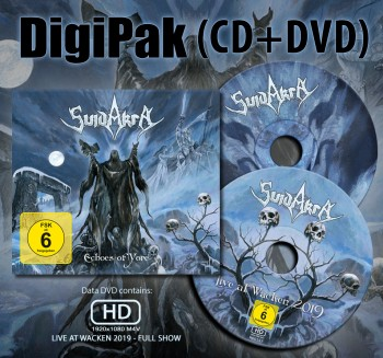SUIDAKRA - Echoes Of Yore Limited Digipak CD + DVD