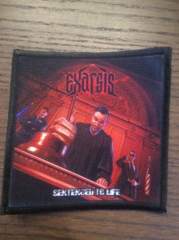 EXARSIS - Sentenced To Life (printed) Patch