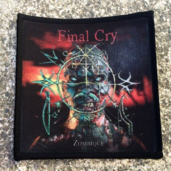 FINAL CRY - Zombique (printed) Patch
