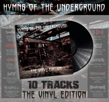 Hymns Of The Underground - The Vinyl Edition Black Vinyl LP