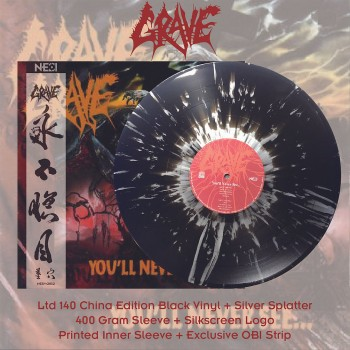 GRAVE - You'll Never See LP (China Import)