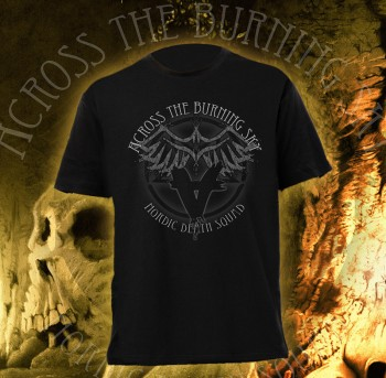 Across The Burning Sky - Nordic Death Squad T-Shirt