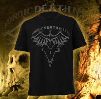 Across The Burning Sky - Nordic Death Metal T-Shirt
