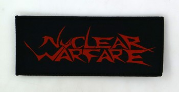 Nuclear Warfare - Red Logo Patch