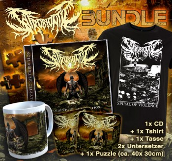 SAPROBIONTIC - Apocalyptic Retribution CD + TS ( Limited Bundle ) S