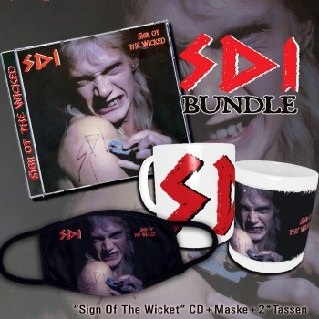 SDI - Sign Of The Wicked Remaster CD Limied Bundle EXCLUSIVE