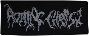 ROTTING CHRIST - silber Logo Patch