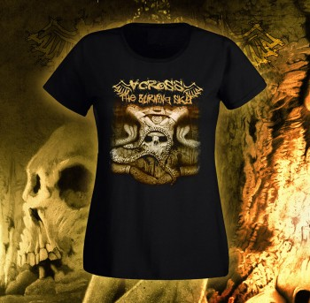 Across The Burning Sky - The Skulll Girlie XS