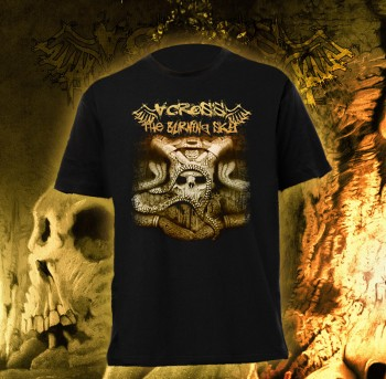 Across The Burning Sky - Skulll T-Shirt