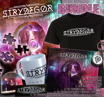 STRYDEGOR - Isolacracy Digipak CD LIMITED BUNDLE XL
