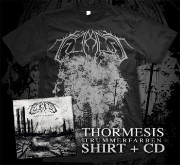 Thormesis - Trümmerfarben Bundle Digipak CD + T-Shirt M