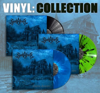 SUIDAKRA - Echoes Of Yore Gatefold LP Collectors Pack (all three Vinyl colors in value Pack)