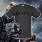 CORROSIVE - Nourished By Blood CD + T-Shirt