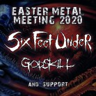 Ticket - Six Feet Under  - Bad Friedrichshall 11.04.2020