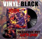 SKELETON PIT - Lust To Lynch Black Vinyl LP
