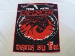 Enforcer - Total Metal Backpatch / Rückenaufnäher