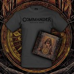 Commander - Fatalis (The Unbroken Circle) CD BUNDLE (CD + T-SHIRT) S
