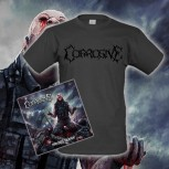 CORROSIVE - Nourished By Blood CD + T-Shirt S