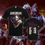Enforcer - From Beyond World Tour Black T-Shirt L