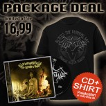 Across The Burning Sky - The End Is Near Package CD + TS XXL