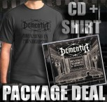 Dementia - Dreaming In Monochrome PRE-ORDER PACKAGE CD + Shirt M