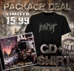 Pessimist - Call To War Re-Release PACKAGE CD + T-Shirt M