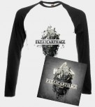 Fall Of Carthage - Behold PACKAGE- Digipak CD + Baseball Longsleeve, L